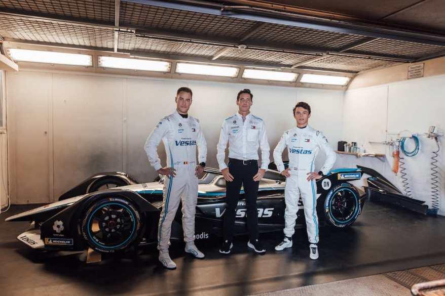 Mercedes-Benz EQ Formel E Team ©Mercedes