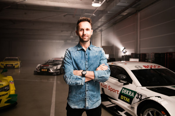 René Rast,Shooting DTM Audi Meisterautos ©Audi