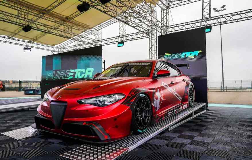 Alfa Romeo Giulia ETCR @Romeo Ferraris