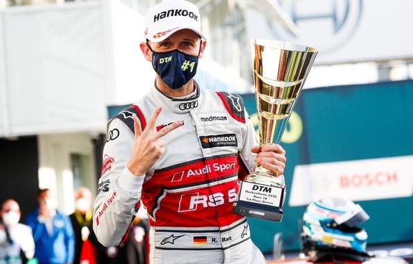 René Rast,DTM 2020, Finale Hockenheim ©Audi