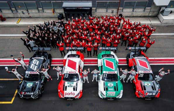 Audi Sport,DTM 2020, Zolder II ©Audi