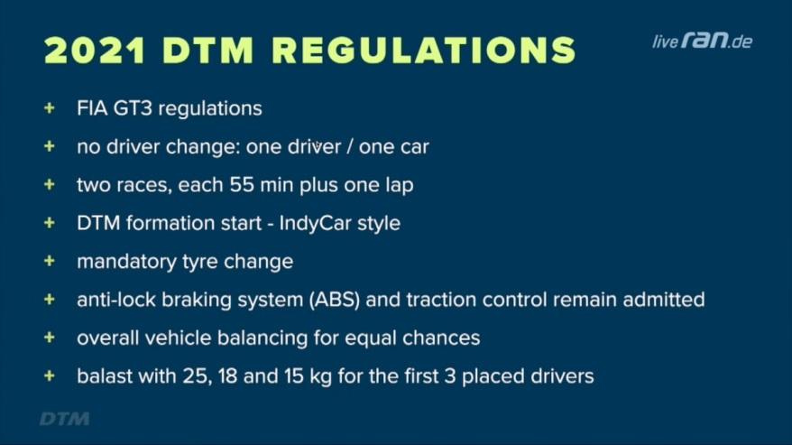 DTM 2021: Gerhard Berger stellt neue Plattform vor- Fünf ...