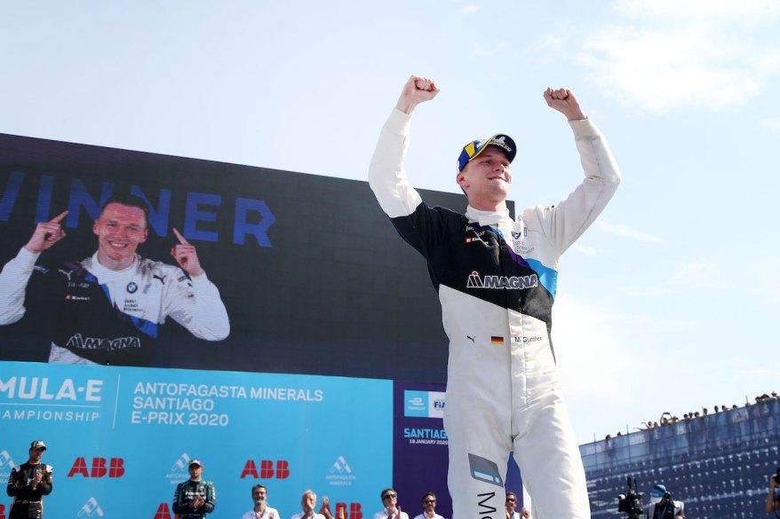 Max Günther BMW 2020 Sieg in Santiago ©BMW
