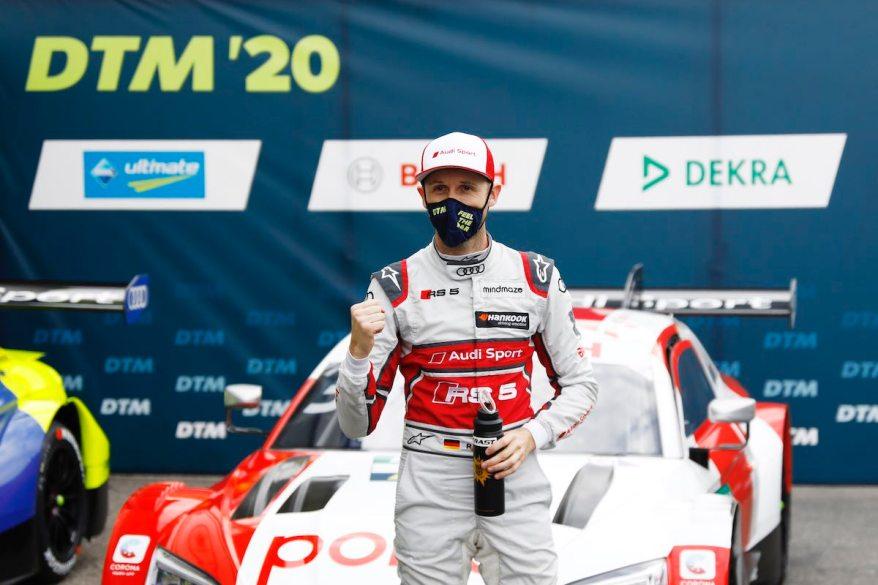Rene Rast, DTM-Meister 2020 ©DTM
