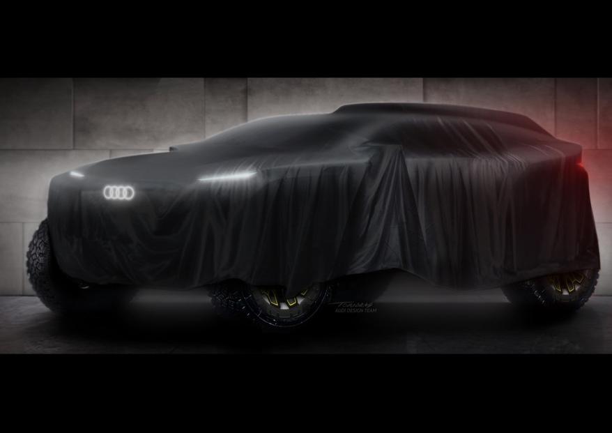 Audi Teaser Rallye Dakar 2022 ©Audi