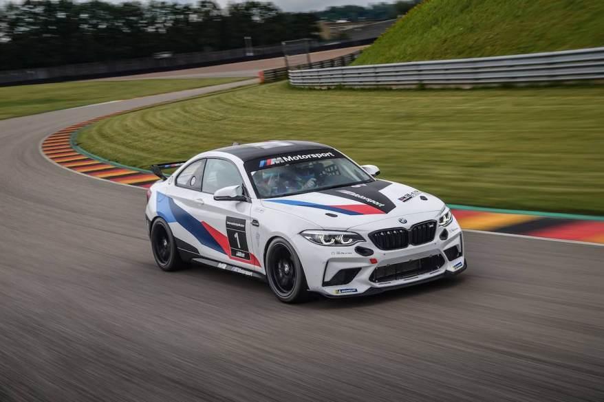 BMW M2 Cup bei der DTM ©BMW