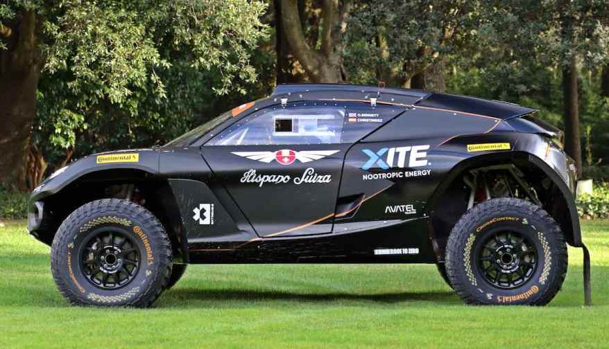 HISPANO SUIZA XITE ENERGY TEAM ©Extreme E