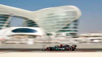 2020 Abu Dhabi Test ©Mercedes,LAT mages