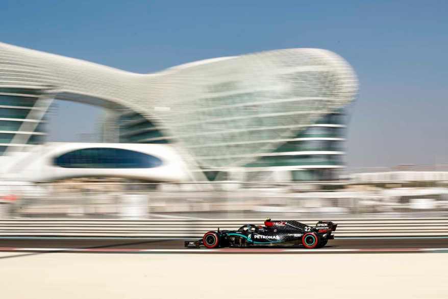 2020 Abu Dhabi Test ©Mercedes,LAT mages