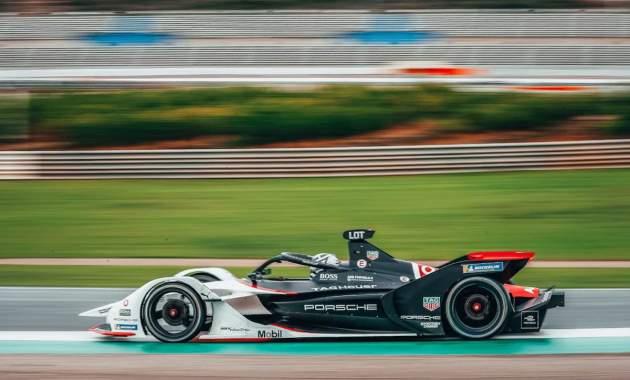 Porsche Electric Formel E Andre Lotterer ©Porsche