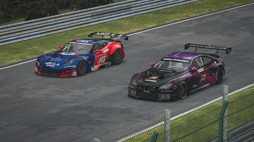 Rennen in Spa ESports ©VCOESPORTS