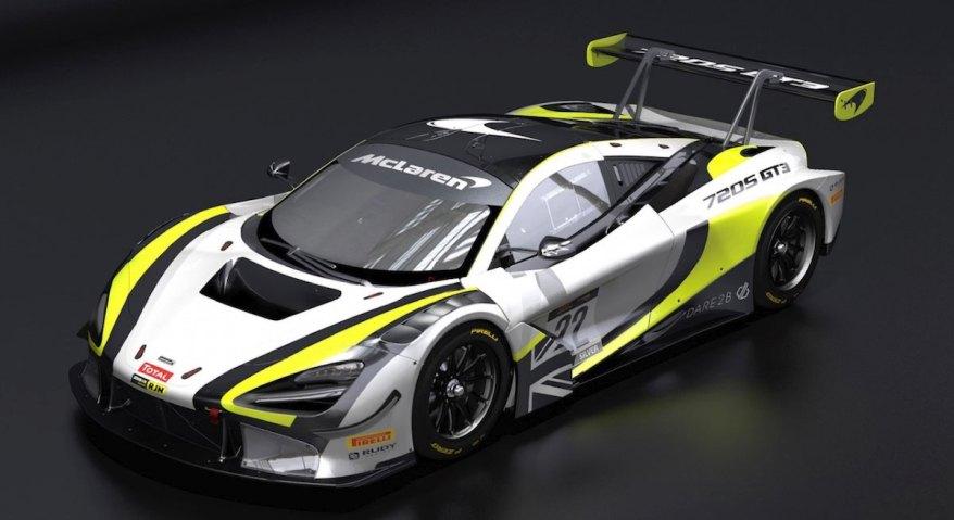 McLaren 720S GT3 ©Jensen Team Rocket RJN