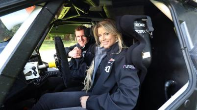 Team Oliver Bennett and Christine Giampaoli Zonca_HISPANO SUIZA XITE ENERGY TEAM ©Extreme E