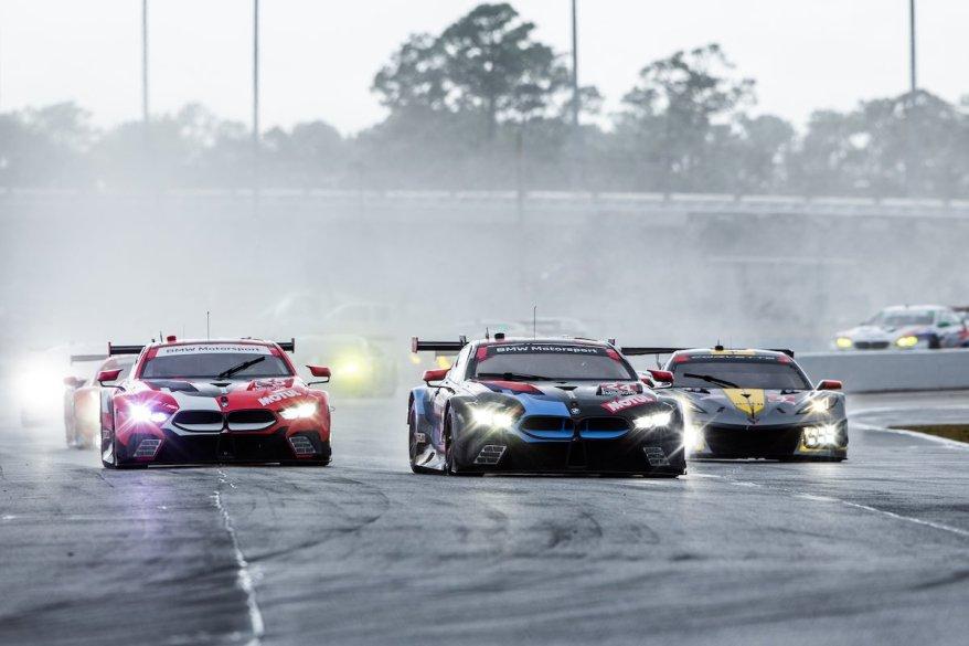 BMW M6 GT3 Daytona Test ©BMW