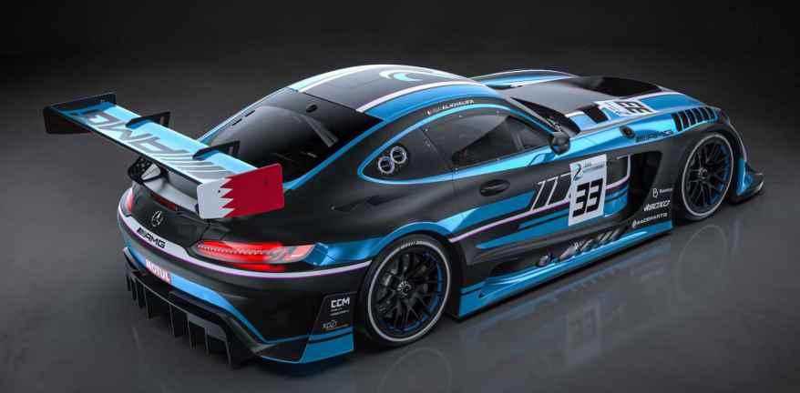 2 Seas Motorsport mit Mercedes AMG GT3 ©2 Seas Motorsport