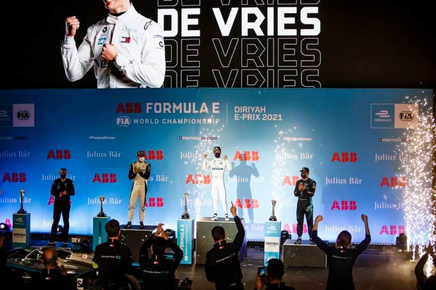 Nyck de Vries,Mercedes,S7_Riad, Freitag, 26. Februar 2021 ©Mercedes,LAT Images