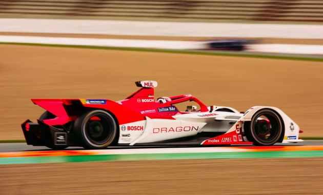 Dragon und Bosch in der Formel E© Bosch,Shiv Gohil
