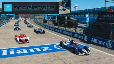 Formel E Accelerate Berlin, Siggy gewinnt ©FIAFormulaE