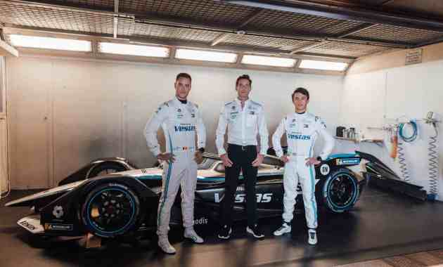 Mercedes Formel E Team Vandoorne, James und de Vries ©Mercedes,STR - Florian Roser