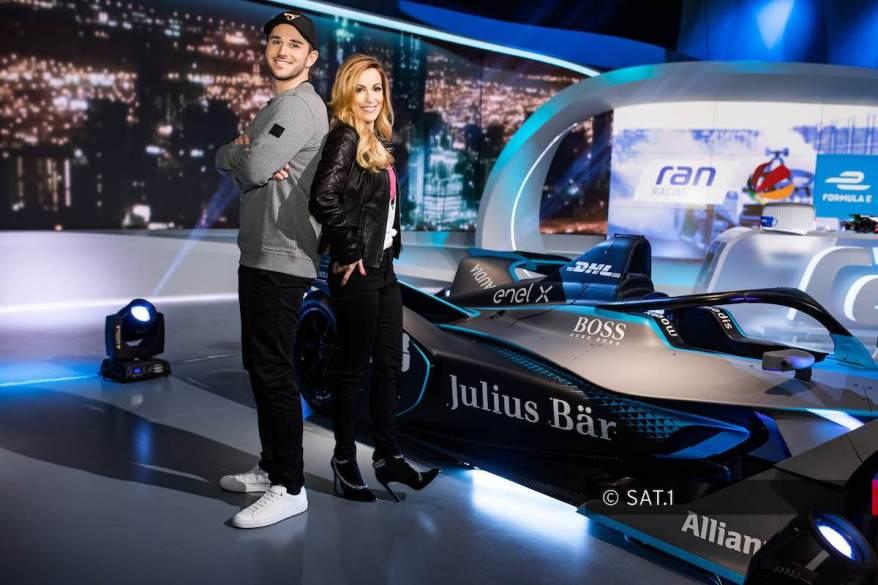 ran racing_Formel E, Daniel Abt und Andrea Kaiser ©even.One/Bene Müller; Fotograf: Benedikt Müller