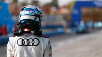 Rene Rast (DEU) Audi Sport ABT Schaeffler, walks away after qualifying ©FIAFormulaE