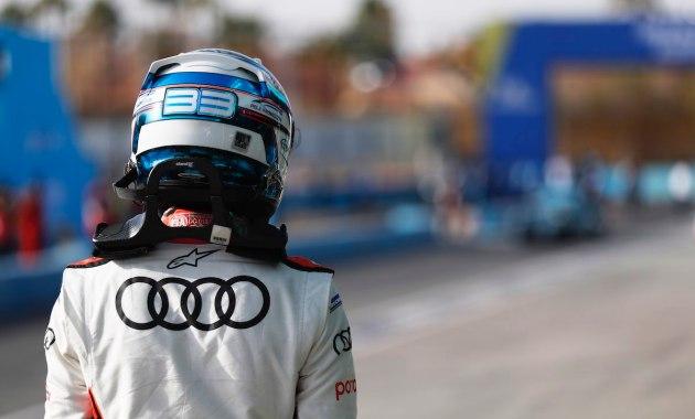 Rene Rast (DEU) Audi Sport ABT Schaeffler, walks away after qualifying ©FIAFormulaE