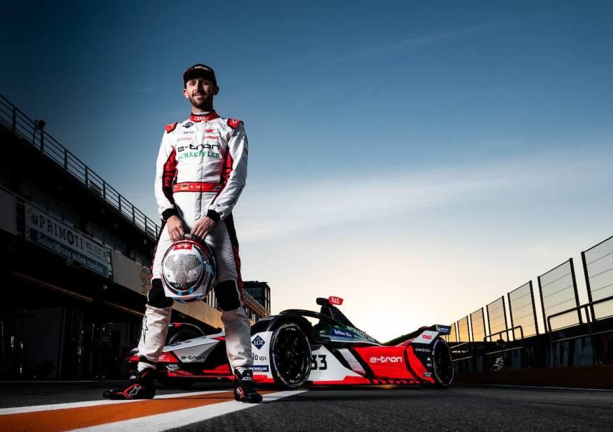 René Rast,Formula E, Valencia Test 2020 ©Audi