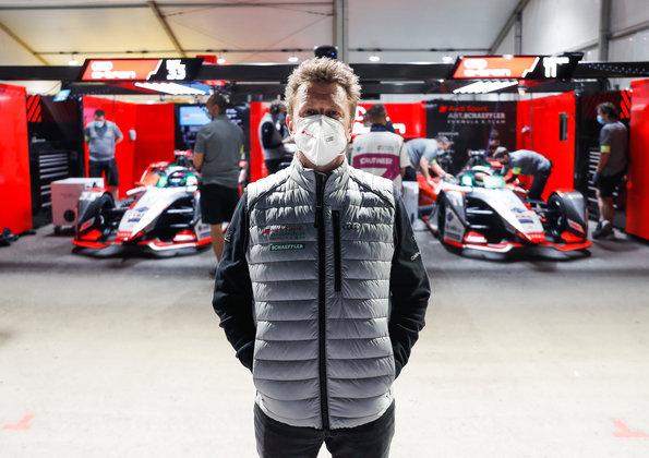 Allan McNish,Formula E, Diriyah E-Prix 2021 ©Audi
