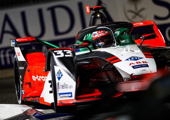 Audi e-tron FE07 #33 (Audi Sport ABT Schaeffler), René Rast,Formula E, Diriyah E-Prix 2021 ©Audi