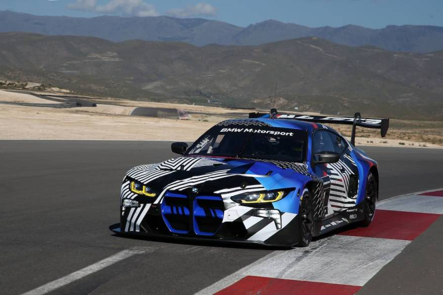 BMW M4 GT3,Almeria (ESP), 18th March 2021 ©BMW