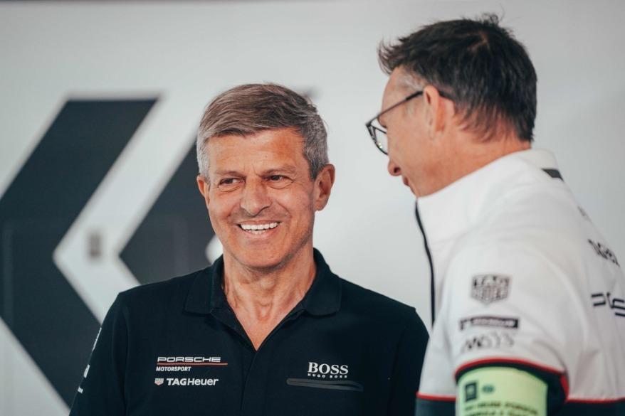 Fritz Enzinger und Amiel Lindesay Porsche ©Porsche