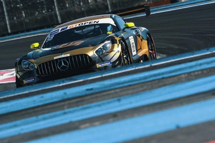 Mercedes-AMG GT3 #88, JP Motorsport ©Mercedes