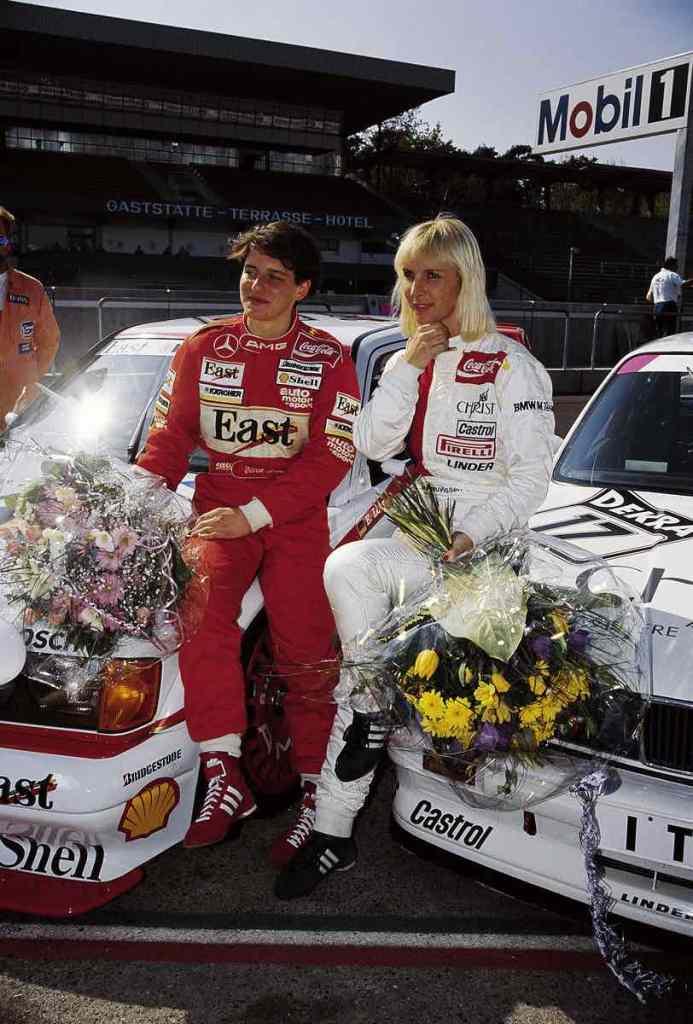 Ellen Lohr und Annette Meuvissen,Motorsports / DTM: german touring cars championship 1991 ©DTM,HOCH ZWEI