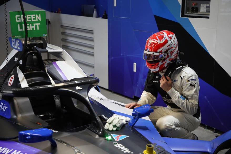 Max Guenther BMW i Andretti Motorsport ©BMW