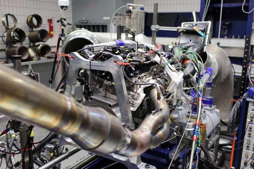 Motor BMW M4 GT3 ©BMW