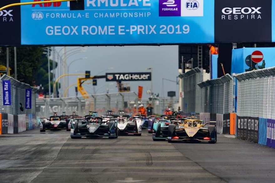 2019 Rome E-prix ©FIAFormulaE