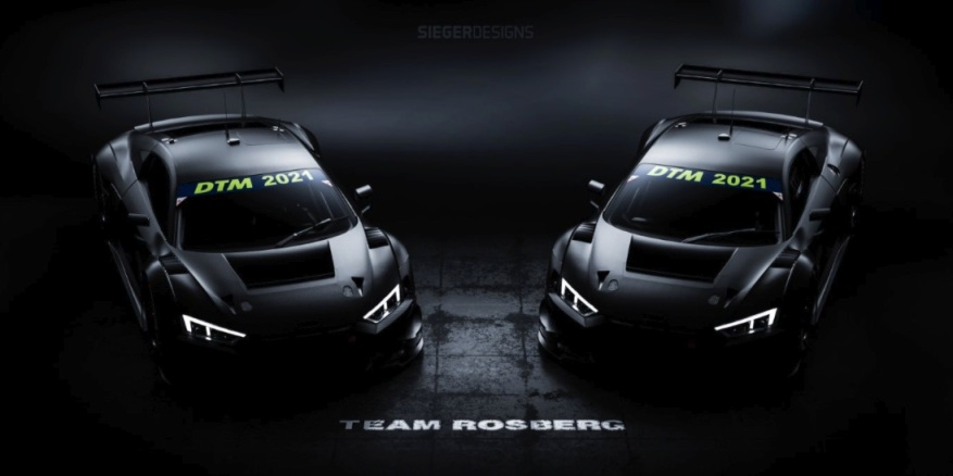 Rosberg Team Audi R8 LMS GT3 @Audi