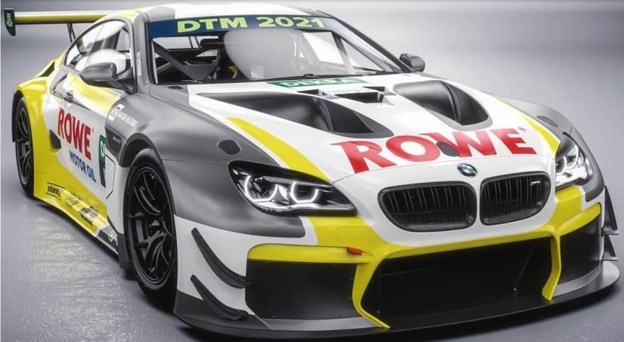 Rowe Racing mit BMW M6 GT3 ©DTM, ROWE