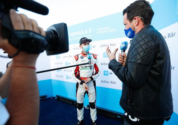 René Rast im Interview mit Matthias Killing,Formula E, Diriyah E-Prix 2021 ©Audi