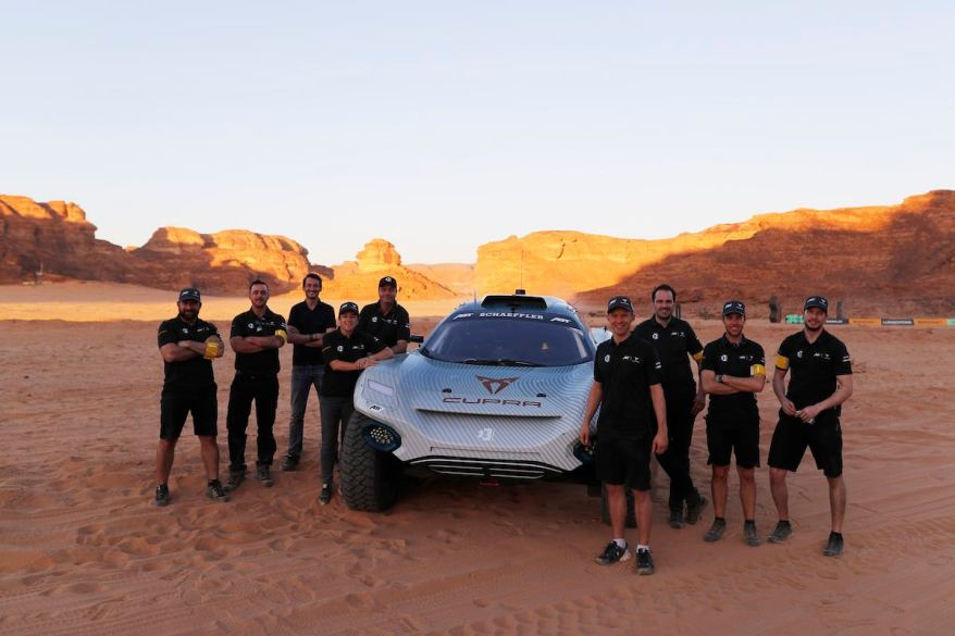 Abt-Crew,Extreme E 2021: Desert X-Prix ©Abt Motorsport,Sam Bloxham / LAT Images