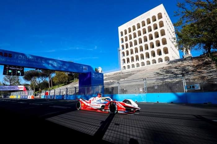 Alexander Sims (GBR), Mahindra Racing, M7Electro ©FIAFormulaE