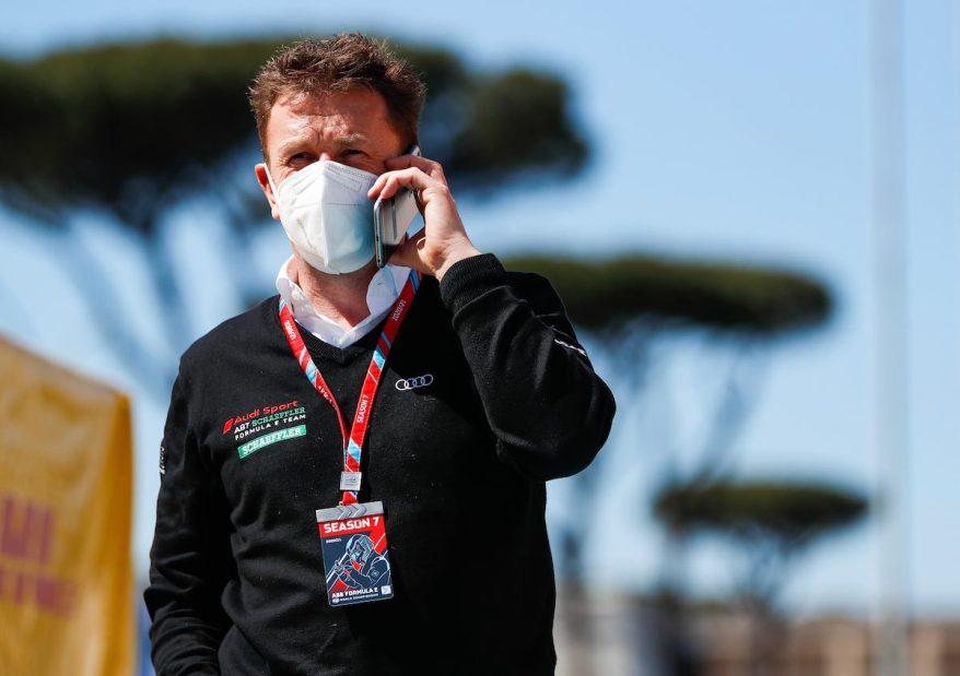 Allan McNish,Formula E, Rome E-Prix 2021 ©Audi