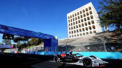 Andre Lotterer,Porsche,Formula E 2020-2021: Rome ePrix I ©Sam Bloxham / LAT Images
