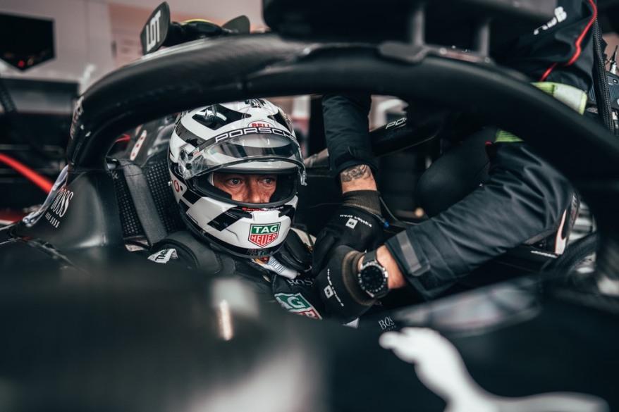 Andre Lotterer Porsche Rom E-Prix ©Porsche