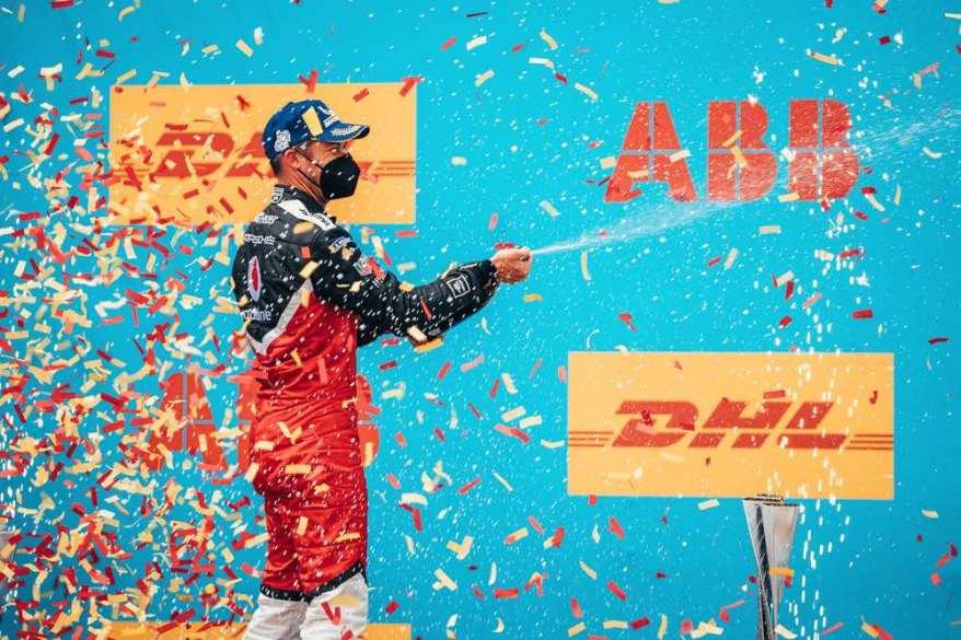 Andre Lotterer Porsche Valencia ©Porsche