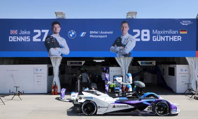 BMW i Andretti Motorsport Formel E ©BMW