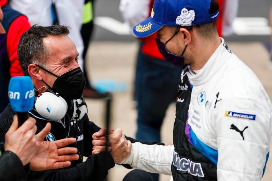 Griffiths und Dennis, BMW © FIA FormulaE