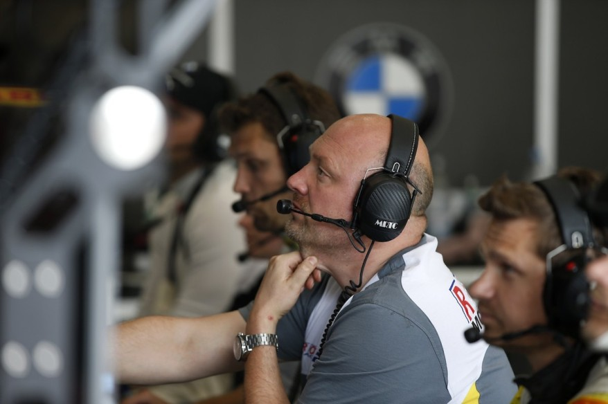 Hans-Peter Naundorf Rowe Racing ©BMW