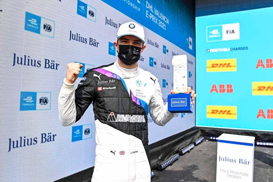Jake Dennis VLC Pole Setter @ FIA FormulaE