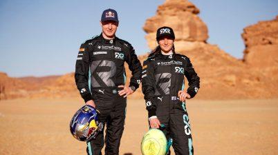 Molly Taylor (AUS)/Johan Kristoffersson (SWE), Rosberg X Racing @LAT, Rosberg X Racing